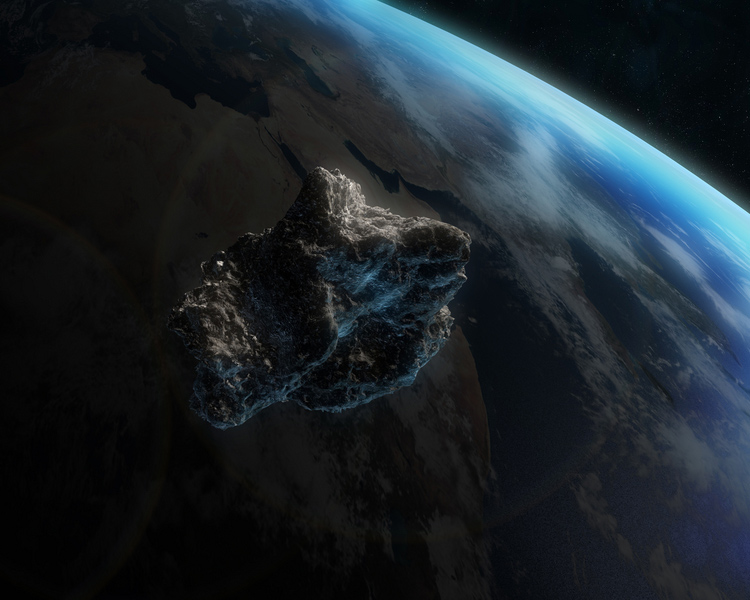 earth asteroid on depression - photo #27